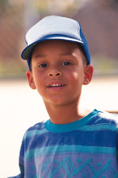 Picture of Boy in Baseball Cap