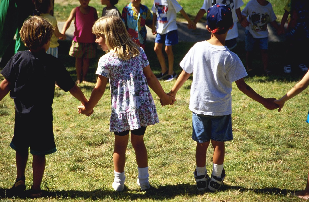 Picture of Children Holding Hands