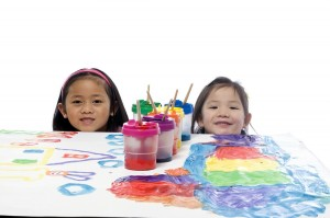 Picture of Children Painting